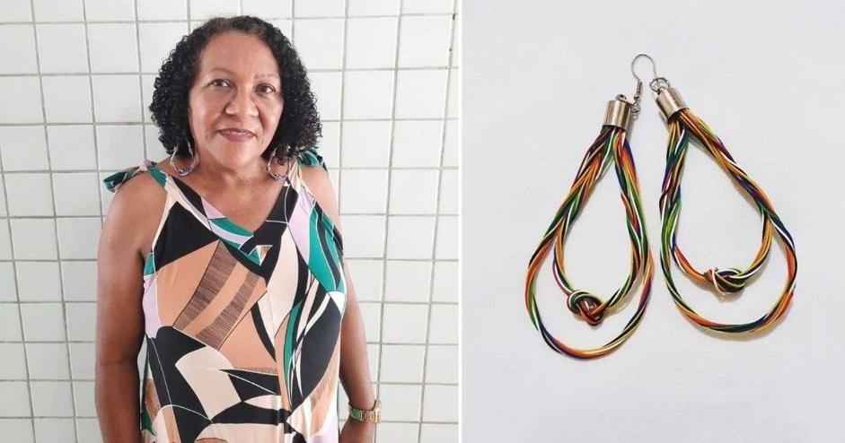 Artesãs reaproveitam fios de eletricidade para fazer lindas biojoias e gerar renda no Ceará 2