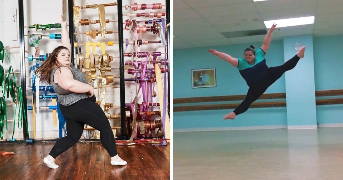 """Bailarina de 19 anos desafia ousadamente os padrões de """"Corpo de Dançarina"""" e é uma coisa linda 1"""