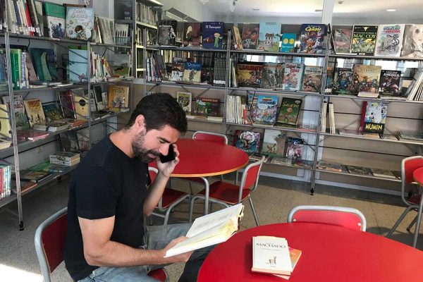 bibliotecario liga para idosos