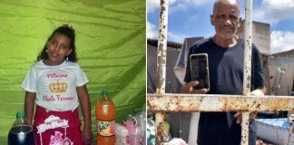 catador encontra celular ganha festa filha