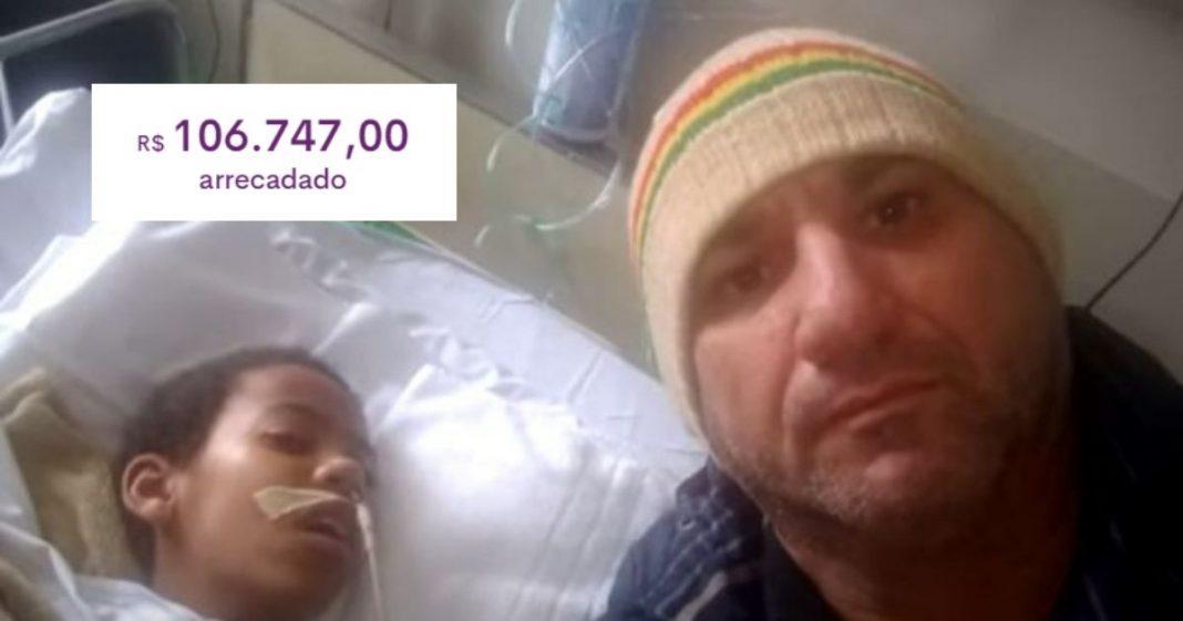 Vaquinha para ajudar criança que comeu marmita envenenada bate mais de R$ 100 mil 2