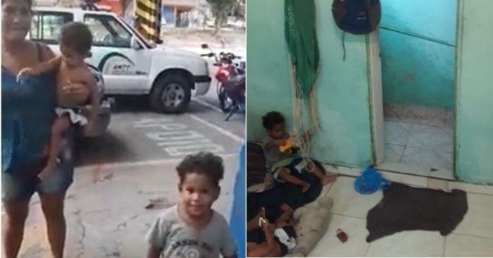Familia venezuelana
