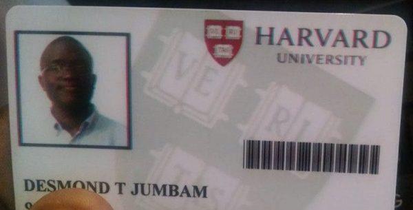 Jovem se forma em Harvard