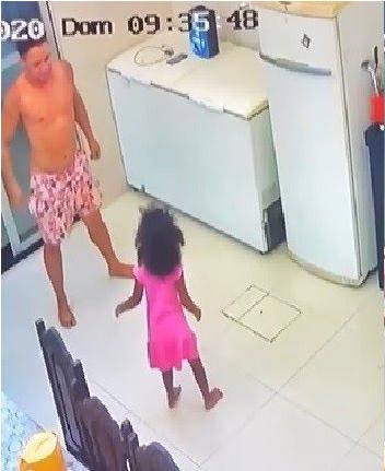 garotinha é filmada dançando