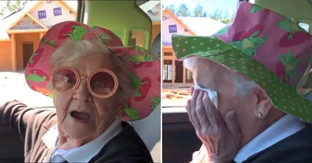[VÍDEO] Avó tem reação maravilhosa ao descobrir que vai morar com o neto 1