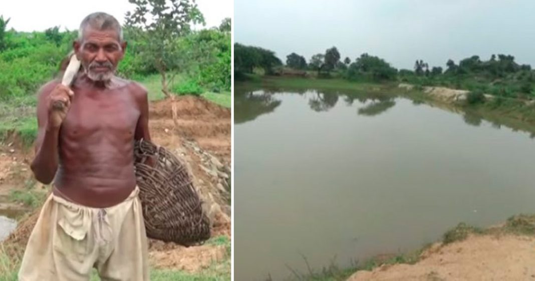 De louco a herói: Indiano escava canal por quase 30 anos e leva água a vila que sofria com a seca 3