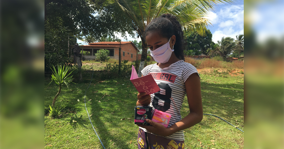 Intimus doa mais de 1,8 milhão de absorventes para mulheres em comunidades e oferece consultas ginecológicas gratuitas 2