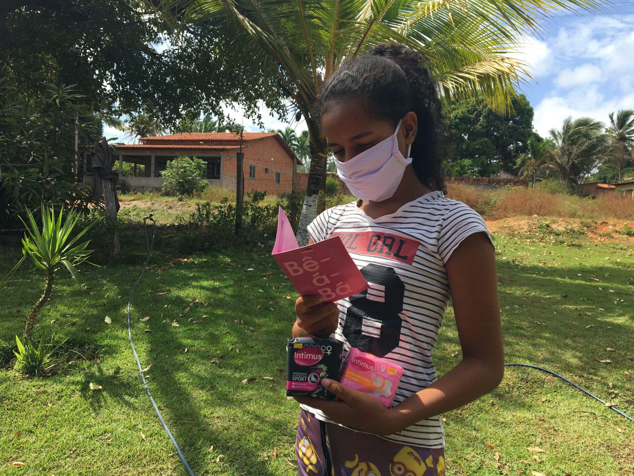 Intimus doa mais de 1,8 milhão de absorventes para mulheres em comunidades e oferece consultas ginecológicas gratuitas 1