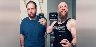 Kenny após o primeiro mês