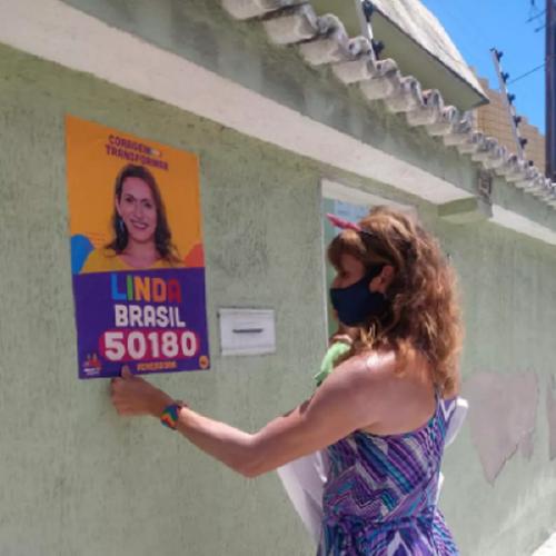 Linda Brasil é a mulher mais votada de Aracaju