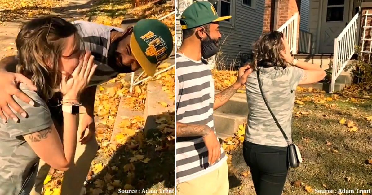 Marido surpreende e compra casa de infância da esposa para realizar o sonho dela [VÍDEO] 2