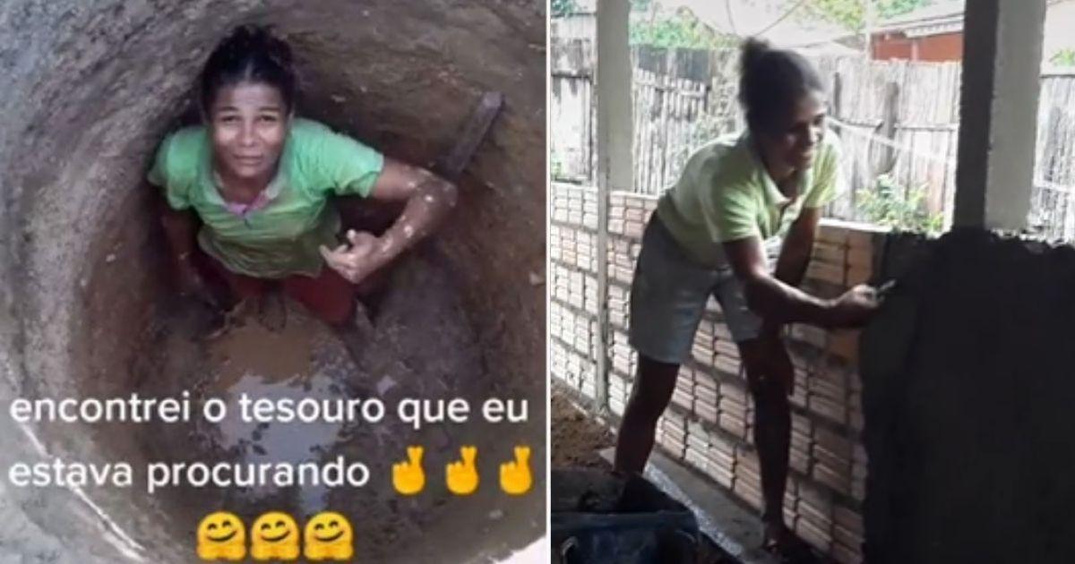 Após cavar poço sozinha para salvar família da seca, mulher constrói sua casa com ajuda de vaquinha 1