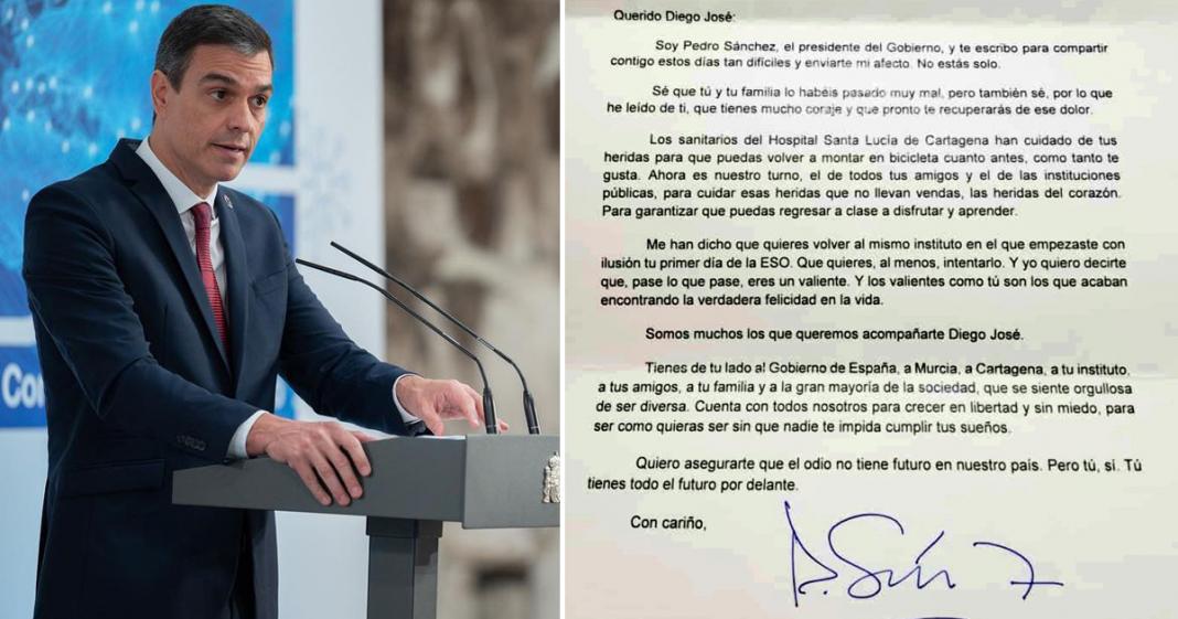 Primeiro-ministro da Espanha envia carta emocionante a menino agredido com ofensas homofóbicas 4