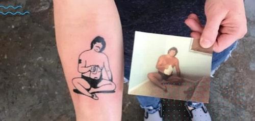 tatuagens eternizar o amor 1