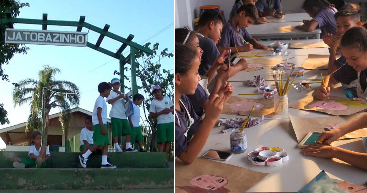 Projeto leva educação a crianças e adolescentes no Pantanal e chega em lugares que ninguém havia chegado! 2