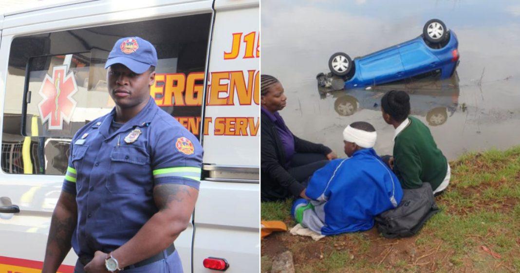 bombeiro salva família