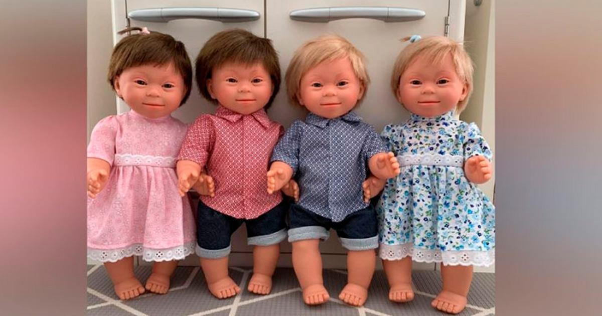 Coleção de bonecos com síndrome de Down ganha prêmio de melhor brinquedo de 2020 na Espanha 3