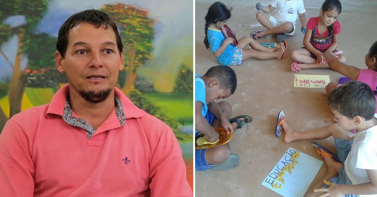 Ex-detento transforma lixão em um lugar de cura e transformação para crianças e jovens 2