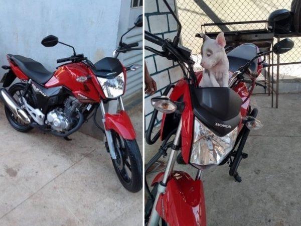 gari teve moto roubada