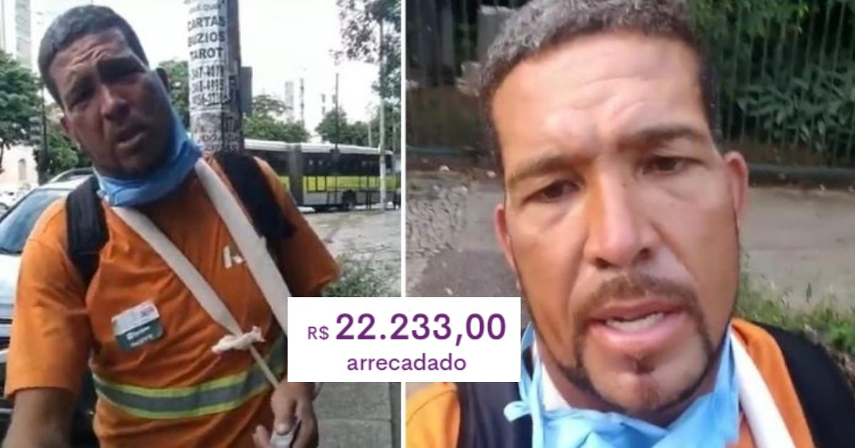 Gari tem moto roubada logo após sair de hospital, faz apelo comovente pedindo ajuda e ganha R$ 22 mil em doações! 1