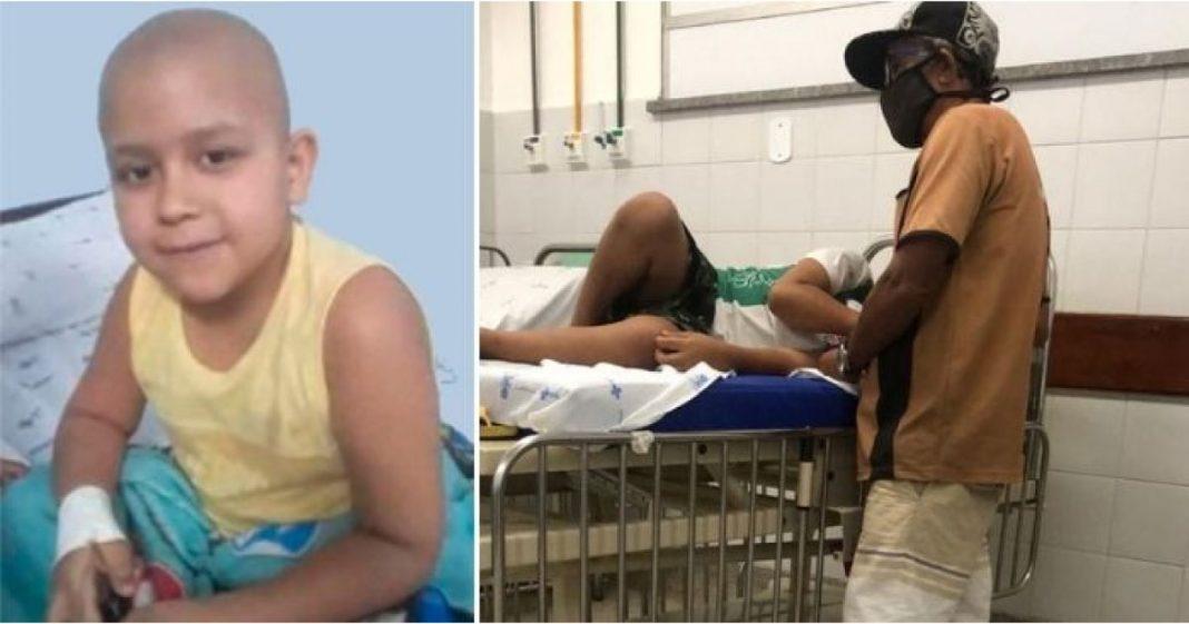 garoto com câncer raro precisa de ajuda