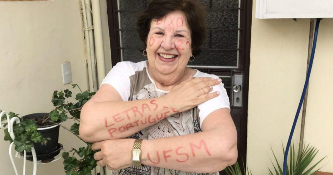 Aos 72 anos e após vencer um câncer, idosa é aprovada em 2º lugar no vestibular de federal 3