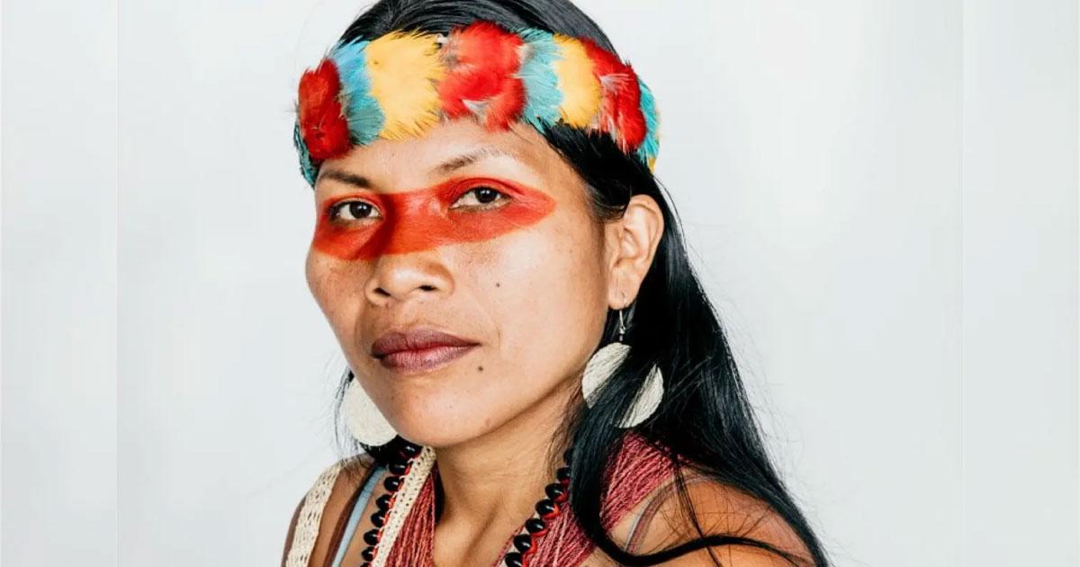 líder indígena está entre as pessoas mais influentes