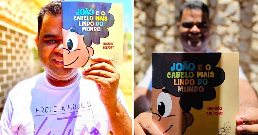 Após sofrer preconceitos na infância, nordestino lança livro para elevar autoestima de crianças com cabelo crespo 6