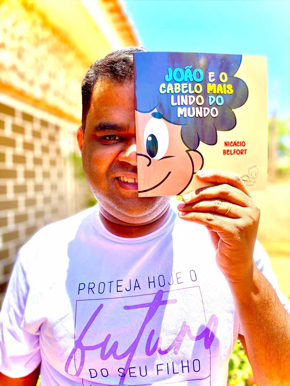 Após sofrer preconceitos na infância, nordestino lança livro para elevar autoestima de crianças com cabelo crespo 2