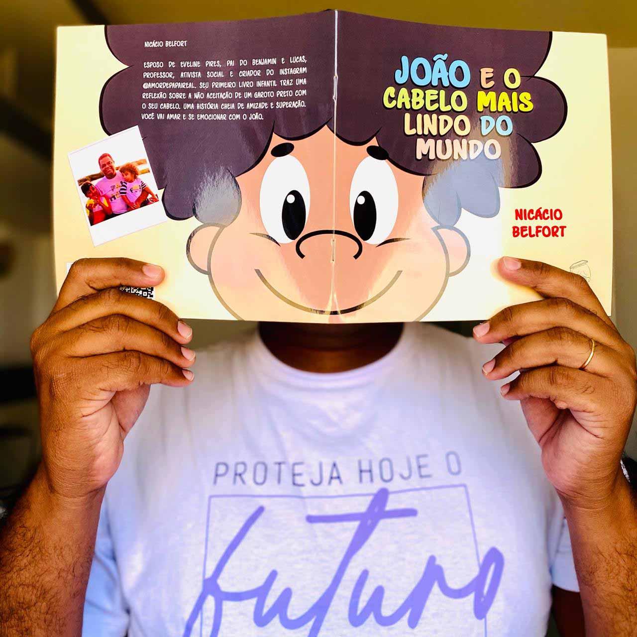 Após sofrer preconceitos na infância, nordestino lança livro para elevar autoestima de crianças com cabelo crespo 3