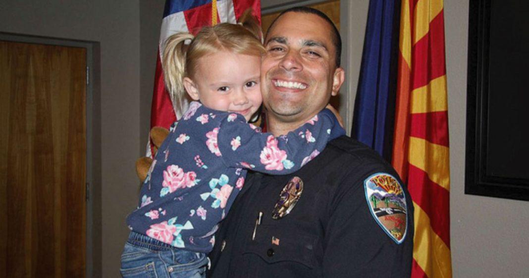 policial adota garota que socorreu