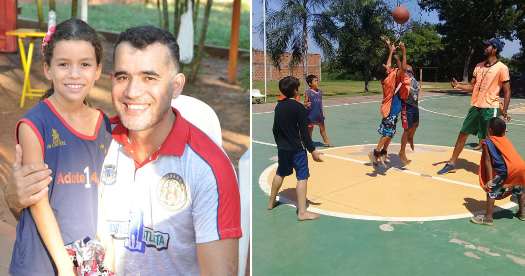 Agente penitenciário transforma a vida de filhos de detentos através do basquete (MS) 5
