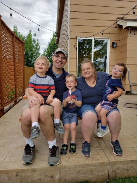 Kate e sua família