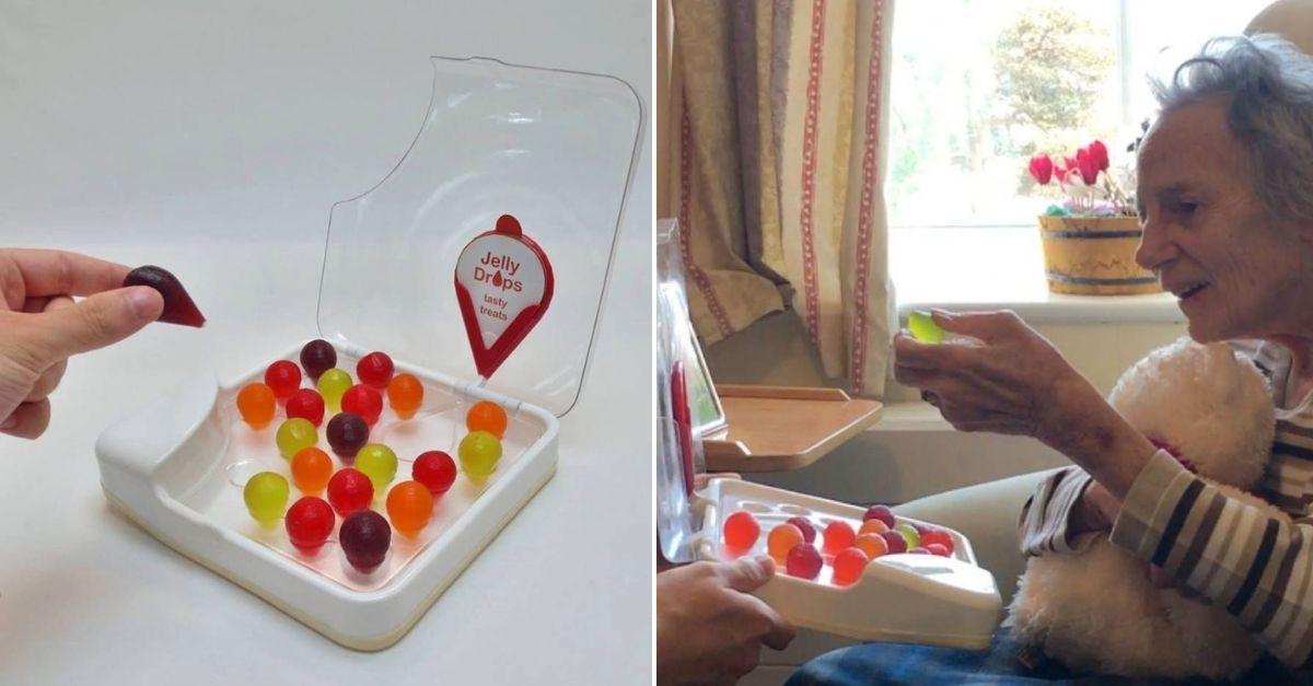 capsulas de agua pessoas demencia