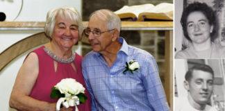 casal se encontra 65 anos depois e casa