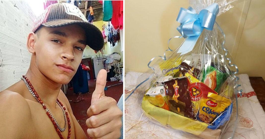 chef lança projeto de cestas