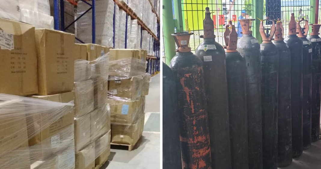 Empresas doam dezenas de cilindros de oxigênio e toneladas de insumos a hospitais de Manaus 5