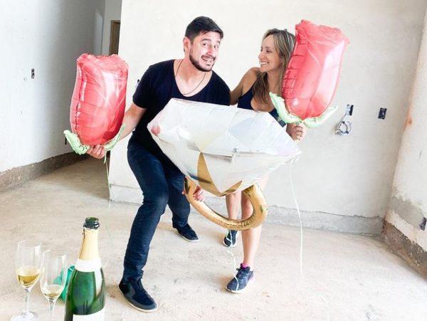 pedido de casamento Fernanda e Thiago