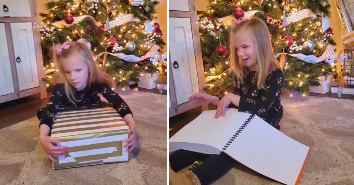 Garota ganha livro do harry potter em braile
