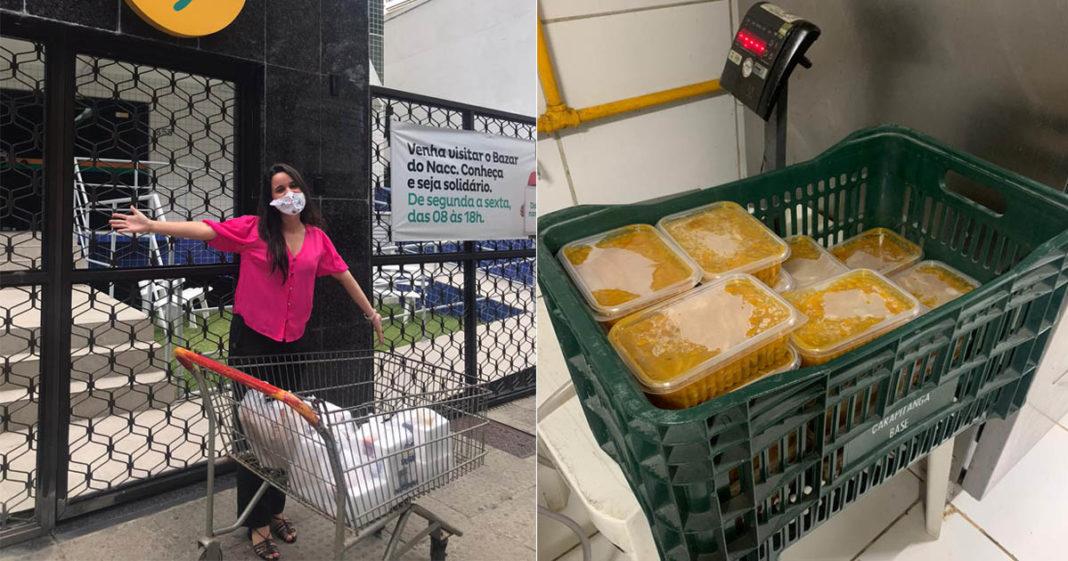 Em vez de usar cupons de desconto, influenciadora doa refeições a moradores de rua e crianças com câncer 4