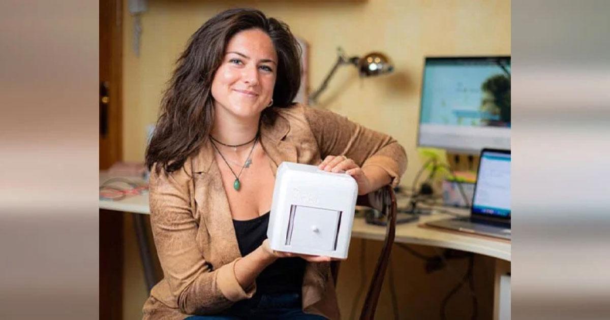 Mulher cria dispositivo que identifica câncer de mama