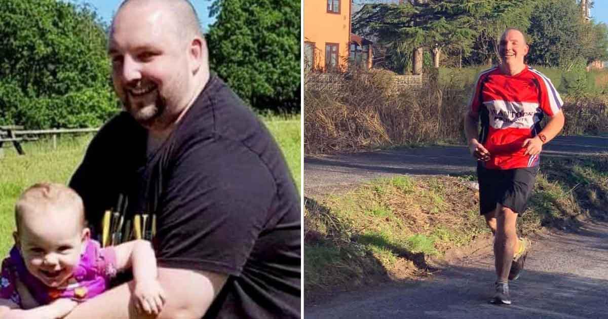 Pai perde 103 kg para voltar a brincar com os filhos, vira maratonista e prepara-se para sua 1ª ultramaratona 1