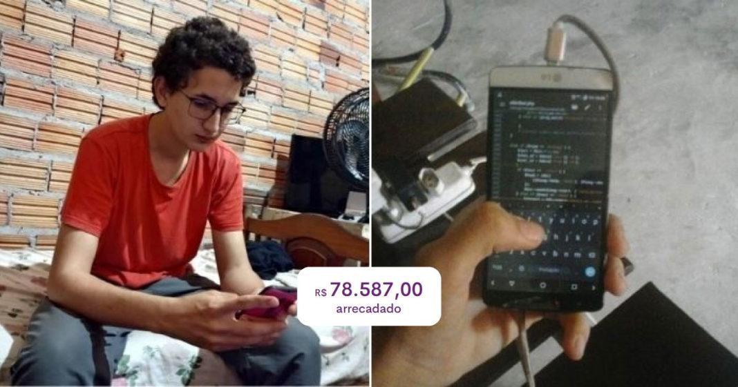 vaquinha para jovem programador bate meta