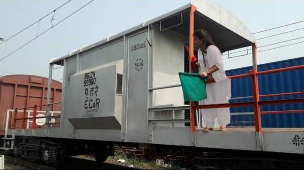 Trem comandado apenas por mulheres