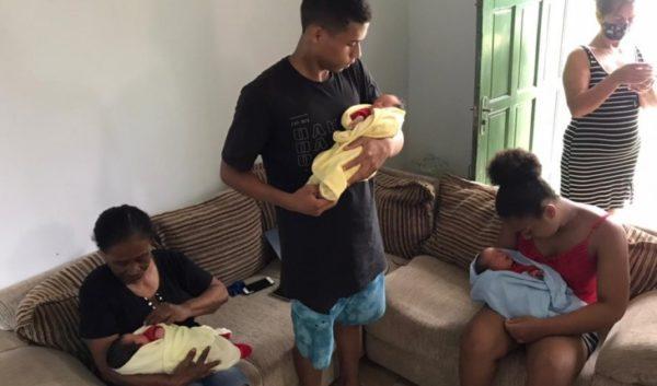 mãe de trigêmeos morre após o parto
