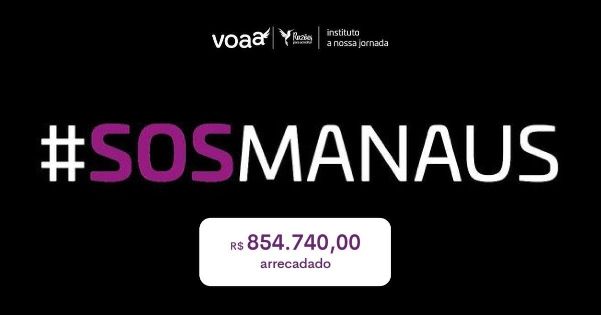 SOS Manaus: vaquinha do Razões arrecada R$ 850 mil e ajuda levar oxigênio para pacientes com Covid-19 1