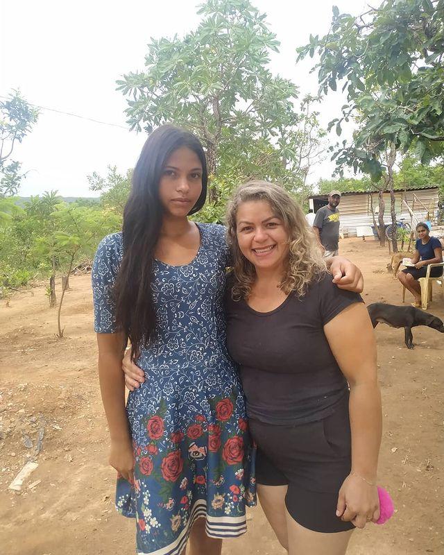 Elaine e Flávia
