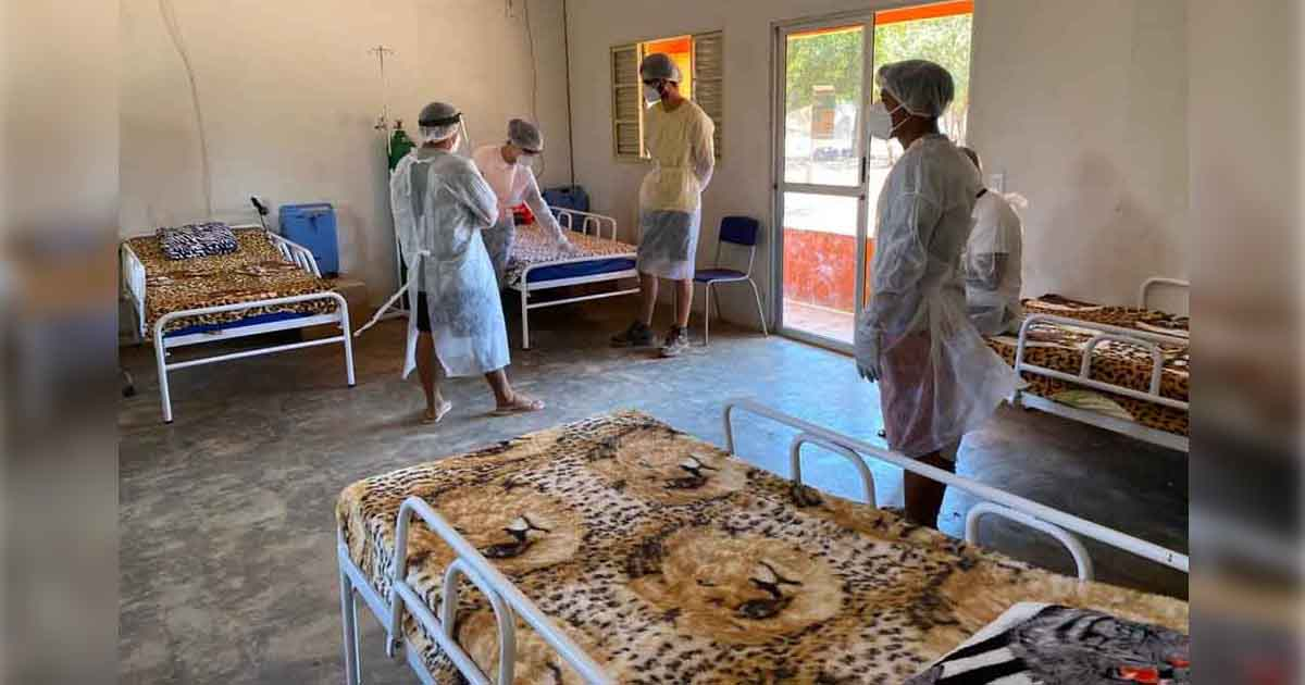 hospital campana coronavírus aldeia xingu