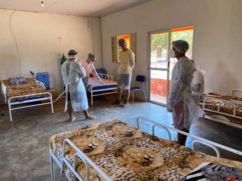 enfermeiros hospital campana coronavírus tribo indígena xingu