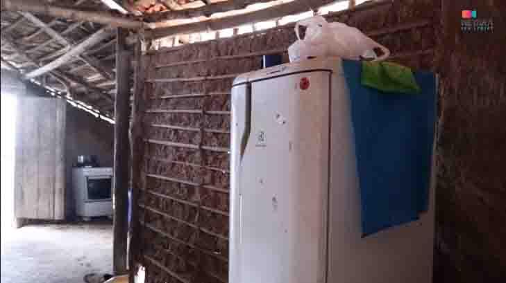 geladeira casa taipa ocupação irregular